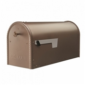 Large Bronze Post Mount Mailbox