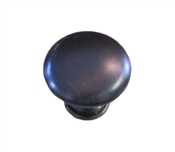 "1-1/4"" Round Smooth Knob - Classic Bronze"