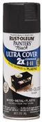 2X Painters Touch Spray Paint Semi Gloss Black