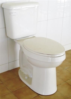 Elongated Front ADA Compliant High Efficiency Toilet, White