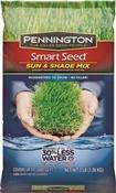 Pennington Seed 100086838 Smart Seed Grass Seed, Sun/Shade, 3 Lb
