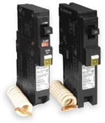 Square D QO115CAFIC Arc-Fault, Type QO Circuit Breaker, 120 V, Fixed Trip, Plug-In Mounting