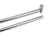 "48-72"" Adjustable Closet Rod, Zinc"