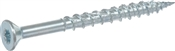 Power Pro ONE Multi-Material Screw Interior Flat Head Zinc-Plated #8 x 2""