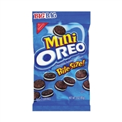 NABISCO Mini Oreo 00680 Mini Bite-Size Sandwich Cookies, 3 oz Bag