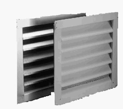 "14"" x 24"" Aluminum Louvered Gable Vent"