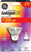 50 Watt GU10 Halogen Indoor Flood Bulb