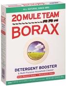 20 Mule Team 00201 Multi-Purpose Laundry Detergent Booster, 65 Oz, Box, White, Crystalline Powder, Odorless
