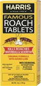 Harris Hrt-6 Roach Killer, 6 Oz Box, White, Tablet
