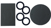 Weatherproof gasket kit