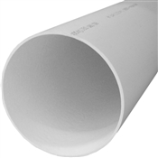 """6"""" x 10' SDR-35 Solid Bell End Sewer Pipe"""