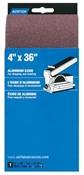 "4"" x 36"" 120 Grit Aluminum Oxide Sanding Belt"