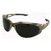 Safety Glasses Camo Smoke