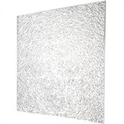"23-3/4"" x 47-3/4"" Prismatic White Acrylic Lighting Panel"