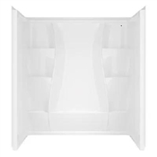 Classic 400 Shower Wall 3-Pc. Set, 60-In. x 32-In.