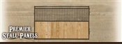 10' Premier Horse Stall Panel - Bar/Wood