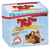 Pet Select Pee-Pee Pads, 30 Pack