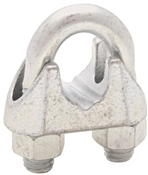 Cable Clamps 5/8In Zn Plt