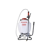 CHAPIN Pro Series 61800 Backpack Sprayer, 4 gal Tank, 48 in L Hose, Poly Tank