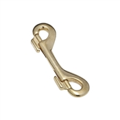 National Hardware 3178BC Series N258-657 Bolt Snap, 215 lb Weight Capacity, Solid Bronze
