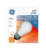 Light Bulb, A15, White, 40-Watts, 355 Lumens