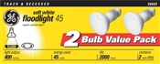 45 Watt R20 Indoor Floodlight Soft White 2 Pack