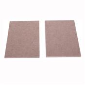 Prosource FE-S105-PS Furniture Pad, 5 mm Thick, Felt Cloth, Beige