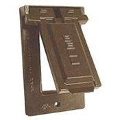 GFCI Vertical Mount Cover - Bronze