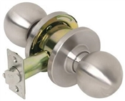 Commercial Passage Ball Knob Satin Stainless Steel