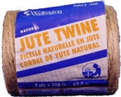 3-Ply Natural Jute Twine Ball 208'
