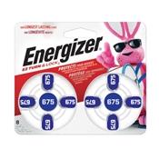 Energizer AZ675DP-8 1.4V Zinc Batery, 8 Pack