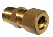 "3/8"" Compression x 1/4"" Male Pipe Thread Adapter"