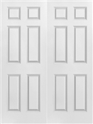 3068 Double 6 Panel Textured Door