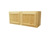 "30"" x 15"" Unfinished Pine Wall Cabinet"
