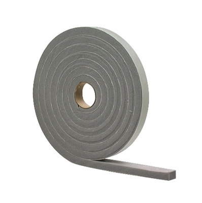 "1/2""x3/4""x10' Weatherstrip With Adhesive Foam Tape"