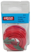 "30"" Red 16AWG Primary Wire"