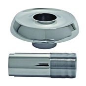 Danco 10765 Flange Set, Metal, Chrome