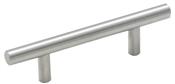 1-15/16 in (49 mm) Length Knob - Sterling Nickel