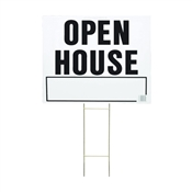 LAWN SIGN OPEN HOUSE 20X24IN