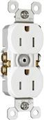 White 15 Amp 125 Volt GFCI Tamper Resistant Receptacle