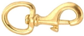 "3/4"" Bronze Bolt Snap Swivel Round Eye"