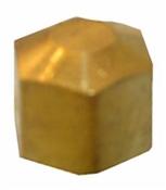 """1/4"""" Brass Compression Cap"""