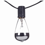 Bristol Collection, 10 Light, 7W, Sliver Tip Incandescent Light Set