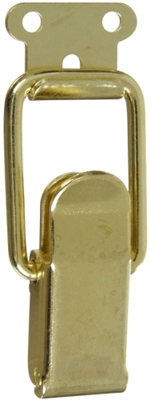 "2-1/4 x 7/8"" Drawer Catch, Bright Brass"