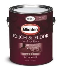 Latex Floor Paint Satin White 1 Gallon
