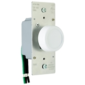 Almond 600 Watt 3-Way Rotary Dimmer