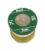 4 Pack 25 Amp Type TL Plug Fuse