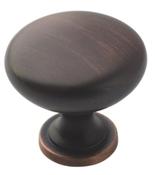 Amerock TEN53005ORB Cabinet Knob, 1-1/8 in Projection, Zinc, Oil-Rubbed Bronze