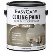 Ceiling Paint, Flat Brite White, 1 Gallon