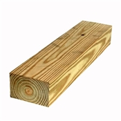 "4x6-16' (Actual: 3-1/2""x5-1/2"") #2 Waxed Ground Contact Treated Pine"